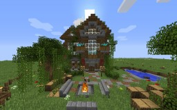 Complex Medieval House Minecraft Map & Project