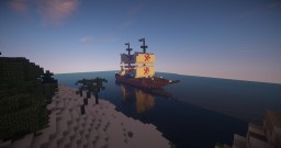 "Esmeralda ""War and Tradeship"" Minecraft Map & Project"