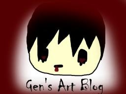 Gen's Art Blog! Minecraft Blog