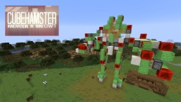 Atlas Mech Suit with Missile Launcher + Autocannon Minecraft Map & Project
