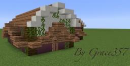 Cute Hut Minecraft Map & Project