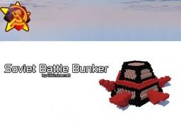 Soviet Battle Bunker (Red Alert 2) Minecraft