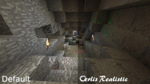 cave8298948 [1.9.4/1.8.9] [128x] Oerlis Realistic Photo Pro Texture Pack Download