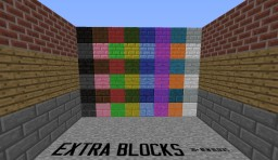 [1.7.10] [v1.0.2] Extra Blocks (30+ New Blocks) Minecraft Mod