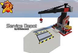Soviet Service Depot (Red Alert 2) Minecraft