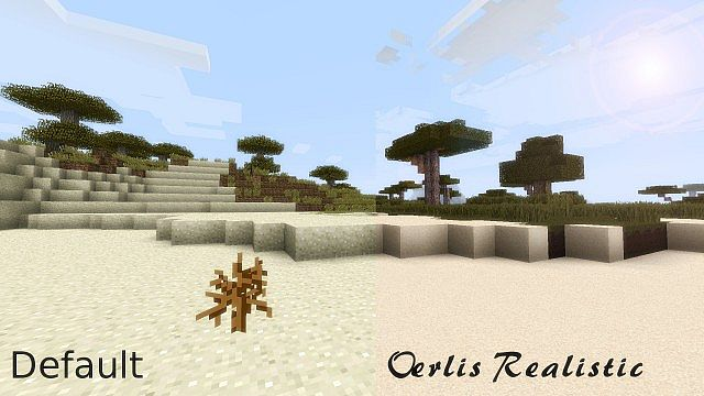 desert8298931 [1.9.4/1.8.9] [128x] Oerlis Realistic Photo Pro Texture Pack Download