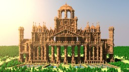 500 Subscribers Thankyou: Dirt Palace! [256 blocks high!] Minecraft Map & Project