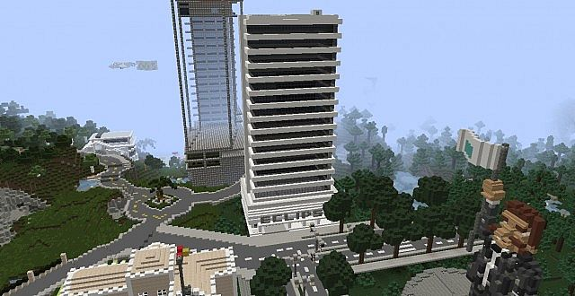 Eclipse Tower Skyscraper Minecraft Project