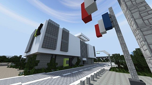 Ck Office Building Visual Architec Minecraft Project