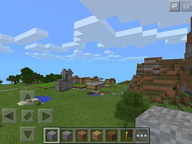 how to find your village in minecraft pe