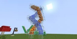 WATER/LAVA Slides Minecraft Map & Project