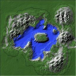 Lake Hart Minecraft Map & Project