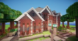 Bega ~ Traditional style mansion Minecraft Map & Project