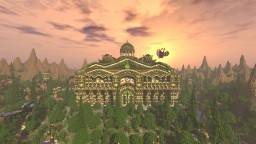 Elessar the forest palace Minecraft Project