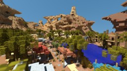 A Desert Oasis - PvP Map (Free Download) Minecraft Map & Project