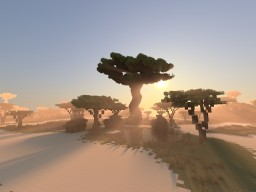 Savannah Oasis (Myths of Daedwin) (with download) Minecraft Project
