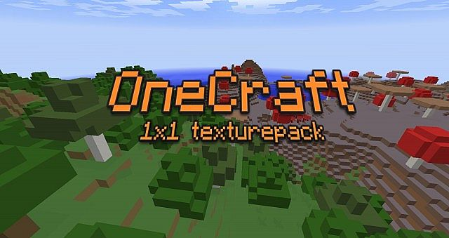 pack8299314 [1.8] [1x] OneCraft 1×1 Texture Pack Download