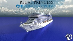 M/S Regal Princess Minecraft Map & Project