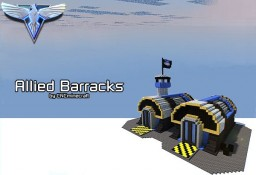 Allied Barracks (Red Alert 2) Minecraft Project