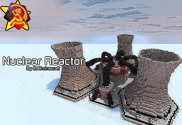 soviet nuclear reactor (red alert 2) minecraft projectproviding roughly 13 times the power of a tesla reactor for less than double the cost