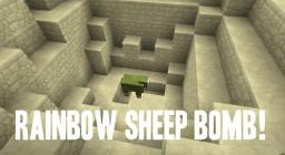Rainbow Sheep Bomb! Minecraft Blog