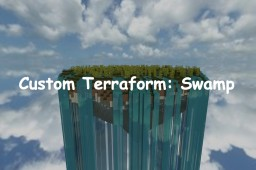 Random Terraform #4: Swamp Minecraft Map & Project