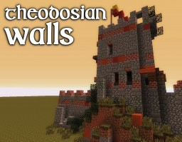 Theodosian Walls (Walls of Constantinople) [MessyMedieval] Minecraft Project