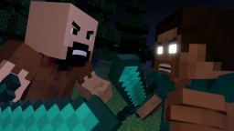 Notch vs Herobrine - Minecraft Fight Animation [The Angels Among Demons] Minecraft Blog Post