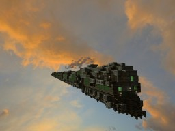 Airship Fleet (Air Train) Minecraft Project