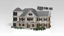 Southern Colonial Style | Architecture Minecraft Map & Project