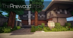 The Pinewood Sticks - House#2 Minecraft Map & Project