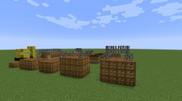Ship Cargo and Dock Cargo + Forklift Minecraft