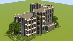 Urban residential apartment house 2 Minecraft