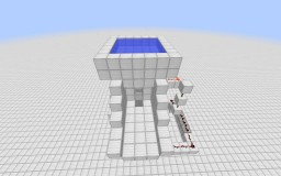 Underwater Player Launcher Minecraft Project