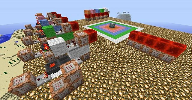 diamond detector Minecraft Map