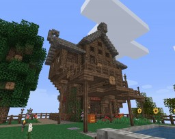 Medieval House 1 Minecraft