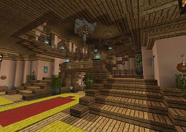 Renaissance town hall download minecraft project for Minecraft interior wall designs