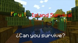 [Survival] Fruit Island Minecraft Map & Project