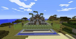 A small Factions Server Spawn Minecraft Map & Project