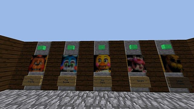 Five nights at freddy s 2 minecraft horror map minecraft project