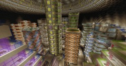 Aquamarine Resort & Futuristic underground city Minecraft Map & Project