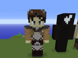 Statue of PrimoSuperT Minecraft Project