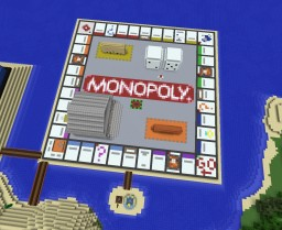 Monopoly Minecraft Map & Project