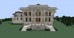 Nottoway Plantation Home Minecraft Project