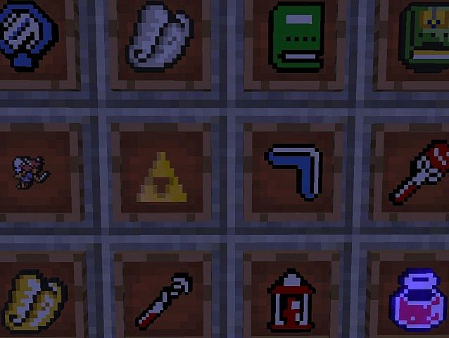 Craft to the past a link to the past minecraft texture pack lots of changed items aloadofball Gallery