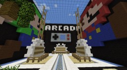 Arcade Server Spawn! 1.8 Minecraft Map & Project
