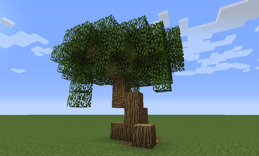 Medium Sized Oak Tree Minecraft Project