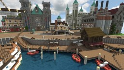 Age Of Empires 3 metropolis Minecraft Project