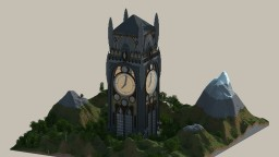 Working Medieval Clock Tower Minecraft Project