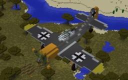 Focke Wulf FW 190 Minecraft Map & Project